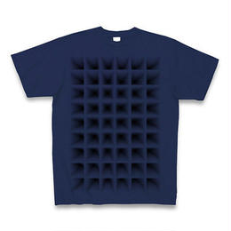 Perspective(グリッド)・Tシャツ ジャパンブルー