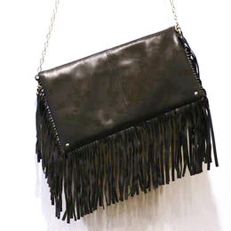 Fringe Clutch [Melty Chocolate]