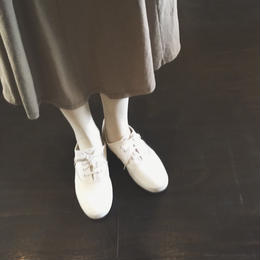 used white sneaker