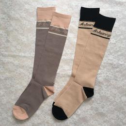 Anteanny socks(rose dust/oatmeal)