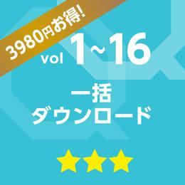 vol.1~vol.16 一括ダウンロード【3980円お得!!】