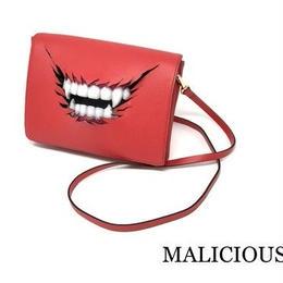 MALICIOUS.X/マリシャスエックス vampire shoulder bag / red