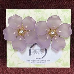 Phantom Jewelry/ファントムジュエリー 夜桜のピアス ゴールド