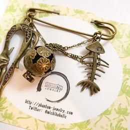Phantom Jewelry/ファントムジュエリー 化け猫のピン