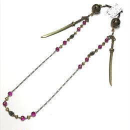 Phantom Jewelry/ファントムジュエリー 鞠と刀のメガネチェーン 桃