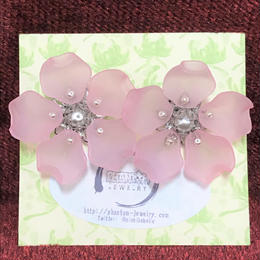 Phantom Jewelry/ファントムジュエリー 桜のピアス シルバー