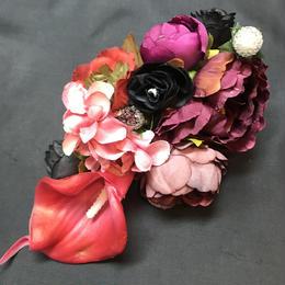 Pantom Jewelry/ファントムジュエリー Dark Bouquetのコサージュ レッド系
