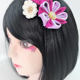 製作日和/せいさくびより コーム T.001.012 ピンク紫
