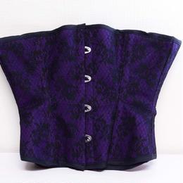 K.victoria/ケー.ヴィクトリア くびれ型コルセット(紫)