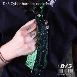 D/3/ディースリー Cyber harness necktie