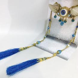 estrelleas/エストレージャス  百鬼祭鬼角頭上装飾 装飾ツノ 白 T001