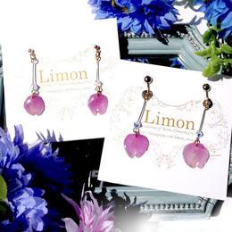 Limon 桜の花びら ピアス/イヤリング 23.24