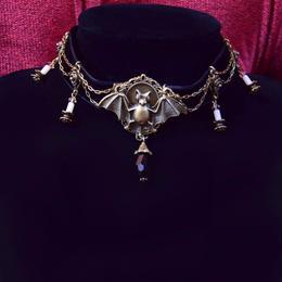 Phantom Jewelry/ファントムジュエリー コウモリとキャンドルのチョーカー