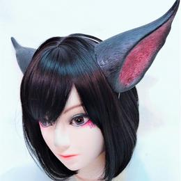 MALICIOUS.X/マリシャスエックス cat ear / black×red