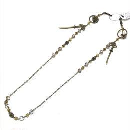 Phantom Jewelry/ファントムジュエリー 蝋燭と短刀のメガネチェーン 透明