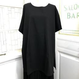 CuLLt/カルト ワイドTシャツ ジオメトリック ブラック