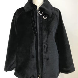FUR QUILT DOCING COAT