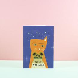 Niaski ヴィンキャット・ヴァン・ゴッホ・カード(Vincat Van Gogh)