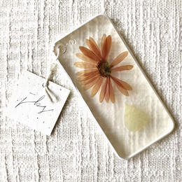 フローラル i phone 7/8 case (ホワイト)⑧