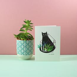 Niaski キャット・テラリウム・カード(Cat Terrarium)