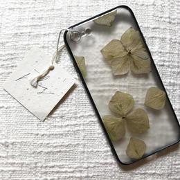 フローラル i phone 7/8 case  (ブラック)⑥