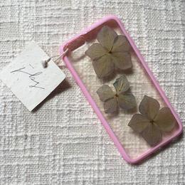 フローラル i phone 6/6S case(ピンク)㉘