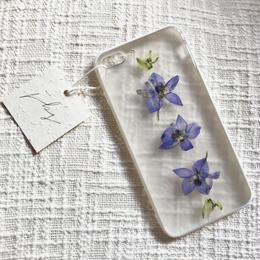 フローラル i phone7/8Plus case  (ホワイト)⑦