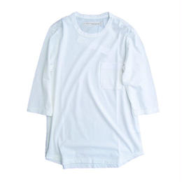 CURLY(カーリー)   PPM QS POCKET TEE (WHITE)