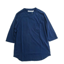 CURLY(カーリー)   PPM QS POCKET TEE (NAVY)
