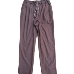 *A VONTADE(アボンタージ)   1Tuck Tapered Easy Trousers  CHARCOAL