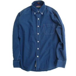 CLEVE SHIRT MAKERS(クリーブ・シャツ・メーカーズ)   L/S  BD SHIRT OVER DYE
