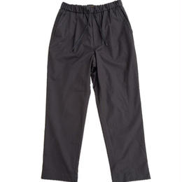 *A VONTADE(アボンタージ)   1Tuck Tapered Easy Trousers    BLACK