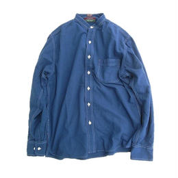 CLEVE SHIRT MAKERS(クリーブ・シャツ・メーカーズ)   L/S BAND COLLAR SHIRT