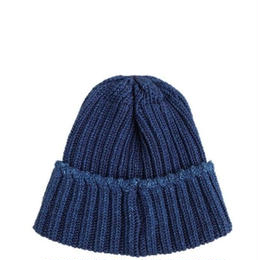 CURLY(カーリー)    MAZARINE KNIT CAP  BLUEDENIM