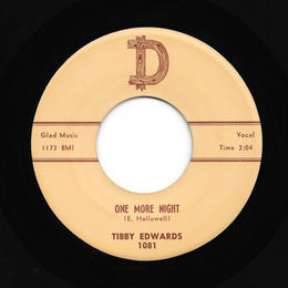Tibby Edwards - One More Night
