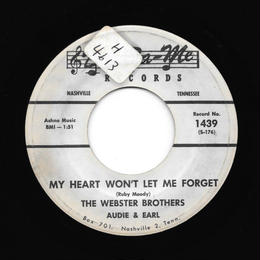 Webster Brothers - My Heart Won't Let Me Forget
