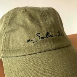 "【Khaki】""New Logo""6panel cap"
