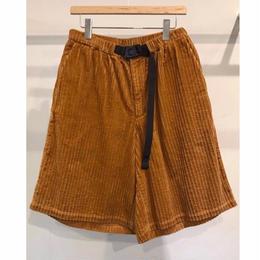 5W COTTON  CORDUROY  EASY SHORT PANTS