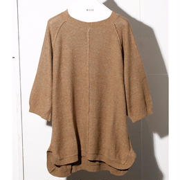 C / SI  NEP YARN  S/S  KNIT TOPS