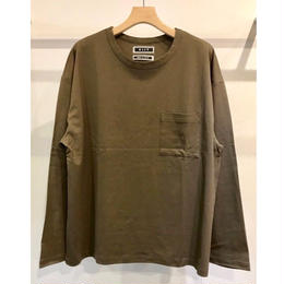 COTTON PIQUE L/SLEEVE TEE