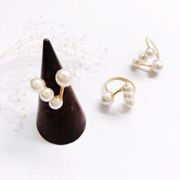 Pearl Ring - no.3 -