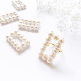 ★choco様 order item★Rectangle Pearl Ring