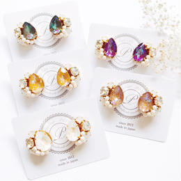 ★2019 A/W New Color★SWAROVSKI®・Crystals Bijoux Pierce - Drop-