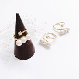 Pearl  Ring - Bijou no.2 -