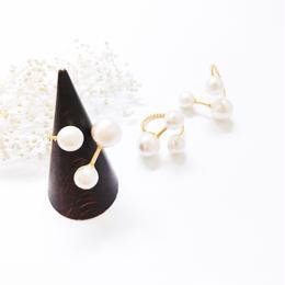 Pearl  Ring - no.1 -