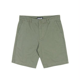 Only NY Washed Chino Shorts (Olive)