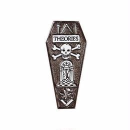 Theories Coffin Enamel Pin
