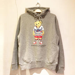 "INTERBREED ×  ATTACK ORIGINAL FUNK BEAR ""MOOKIE"" HOODIE (GREY, BLACK)"