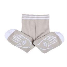 Theories Mystic Advisor Socks (Warm Grey/White)