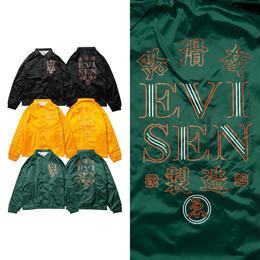 EVISEN HONG KONG COACH JACKET (BLACK, GOLD, DARK GREEN)